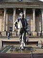 Statue of Harold Wilson - St George's Square - geograph.org.uk - 617680.jpg