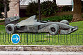 Statue of a Formula 1 car - Monaco 2014.jpg