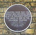 Staunton House plaque - geograph.org.uk - 788707.jpg