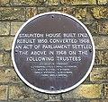 Staunton House plaque - geograph.org.uk - 788707.jpg