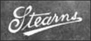 E. C. Stearns Bicycle Agency - Image: Stearns steamer 1901 logo