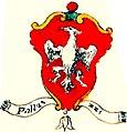 Stemma Palazzi 1730 ca. Arme famiglie Aggregate al consiglio della magnifica città di Vicenza - carta 38.jpg