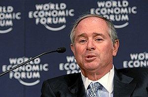 Private equity in the 2000s - Image: Stephen Schwarzman
