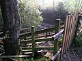 Steps down to the railway at Wallacetown - geograph.org.uk - 334593.jpg