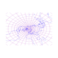 Stereographic projection of northern hemisphere with grid.png