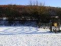 Stile at foot of Butser Hill - geograph.org.uk - 417770.jpg