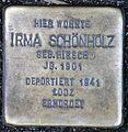 Stolperstein-Irma Schoenholz-Koeln-cc-by-denis-apel.jpg