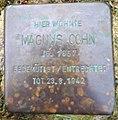 Stolperstein Beckedorf Kirchweg 1 Magnus Cohn.jpg