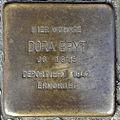 Stolperstein Dora Bryt (Wetzlarer Straße 19 Butzbach).jpg