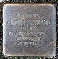 Stolperstein Jagowstr 16 (Moabi) Alfons Neumann.jpg