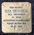 Stolperstein Kantstr 150a (Charl) Rosa Sternberg.jpg