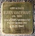 Stolperstein Kirschenallee 5 (Westend) Eugen Vandewart.jpg