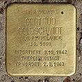 Stolperstein Meerscheidtstr 13 (Westend) Gertrud Goldschmidt.jpg