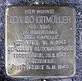 Stolperstein Reichsstr 106 (Westend) Oda Schottmüller.jpg