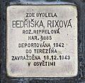 Stolperstein für Bedriska Rixová.JPG
