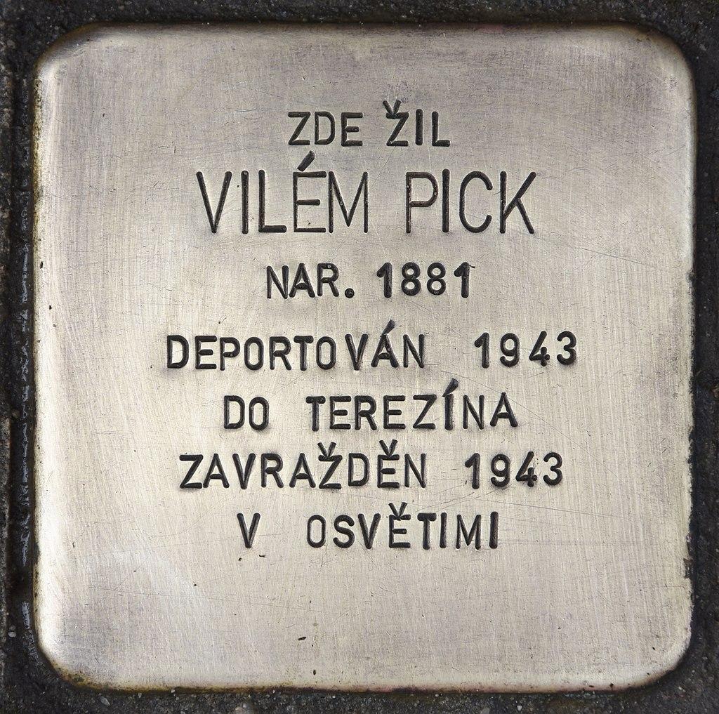 Stolperstein für Vilem Pick.jpg