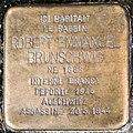 Stolpersteine Robert Emmanuel Brunschwig 19 boulevard Clémenceau Strasbourg.jpg