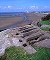 Stone graves, St Patrick's Chapel, Lower Heysham - geograph.org.uk - 1074118.jpg