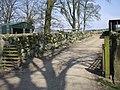 Stone wall, Auchengray Farm, New Abbey - geograph.org.uk - 950362.jpg