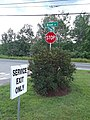 Stop sign Broad and Passumpsic Streets Lyndonville VT July 2019.jpg