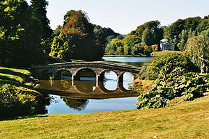 National Trust for Places of Historic Interest or Natural Beauty - One of the most visited National Trust properties is Stourhead, with its classic landscape garden.