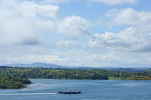 Portaferry - Strangford Lough View From Windmill Hill, Portaferry