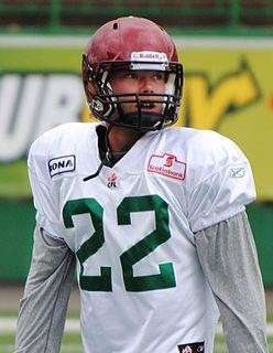 Stu Foord Canadian football player