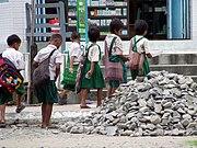 Students, Hakha, Chin State, Myanmar