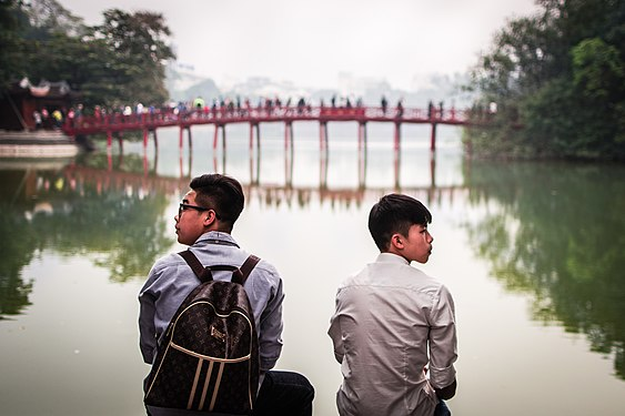 Students in Hanoi having a study break.jpg