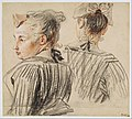 Studies of a Woman Wearing a Cap MET DT10096.jpg