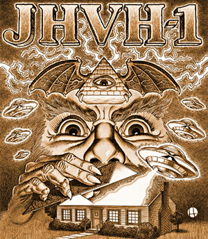 Church of the SubGenius - Jehovah1, the primary deity of the Church of the SubGenius.