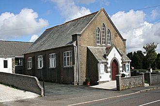 Summercourt - Summercourt Methodist Church (now a private dwelling).