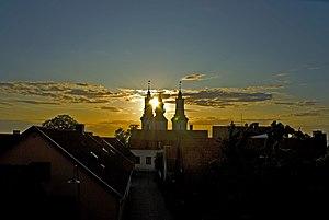Sunset over Visby, Sweden (6231231847).jpg