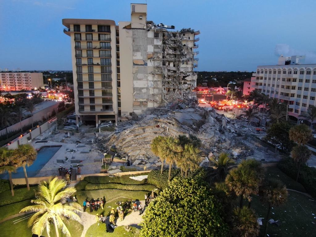 Miami Condo Collapse Raises Concerns of Flooding, Sea-Level Rise