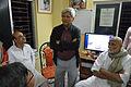 Susanta Banerjee Addresses - Opening Ceremony - PAD 3rd Free Short Term Course on Photoshop - Kolkata 2016-02-06 1031.JPG
