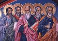 Synaxis of the Twelve Apostles Dimitar Molerov Rila Monastery 1835.jpg