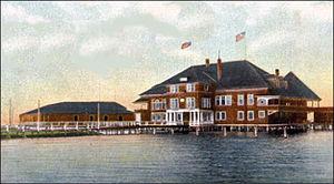 Onondaga Lake - Onondaga Lake Yacht Club in 1907