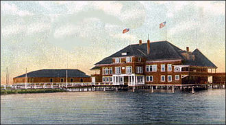 Onondaga Lake - Onondaga Lake Yacht Club in 1907