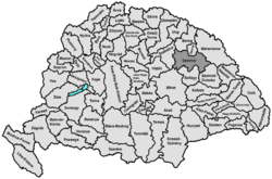 Location of Szatmár