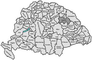 Szatmár County - Image: Szatmar
