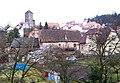 Týnec nad Sázavou, hrad, od mostu.jpg