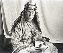 T.E. Lawrence With Lawrence in Arabia.jpg