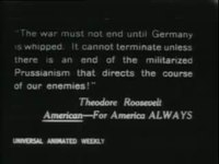 File:TR reviews and addresses troops (Fort Sheridan, Ill.); TR riding in auto, Chicago, 1917 4106.webm