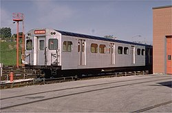 TTC M1 Subway Car at Greenwood Yard.jpg