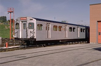 Montreal Locomotive Works - MLW M-Series Subway Car