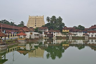 Padmanabhaswamy Temple - Image: TVM Padmanabhaswamy Temple