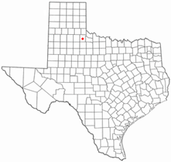 Location of Paducah, Texas