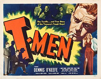 T-Men - Theatrical release poster