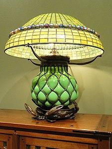 Table Lamp, Tiffany Studios, 1902-1919 - Nelson-Atkins Museum of Art - DSC09186.JPG