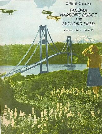 McChord Field - Program for the opening of McChord Field, Juy 3, 1940